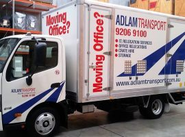 Introducing Our Purpose Built Office & Corporate Removals Truck