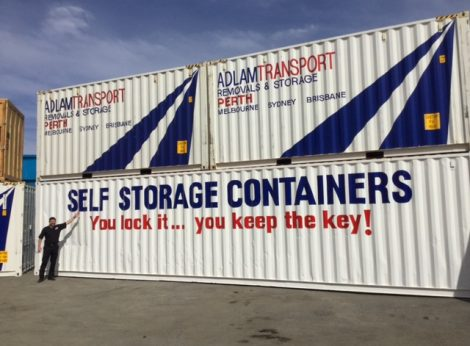 Sea and Shipping Containers Perth