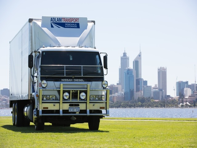 Transportation used for relocations in Perth