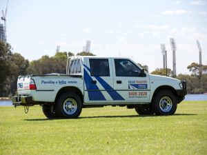 One of Adlam's pre pack services fleet